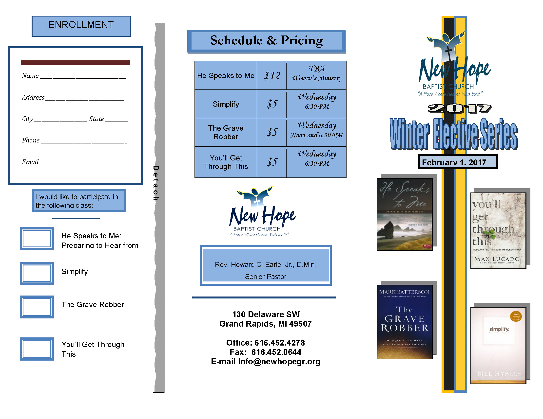 NHBC Elective Series Brochure
